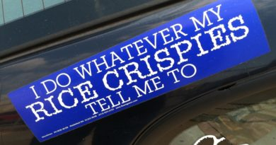 If Bumper Stickers Say So …